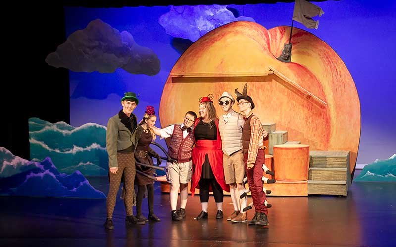 James And The Giant Peach Jr May 2018