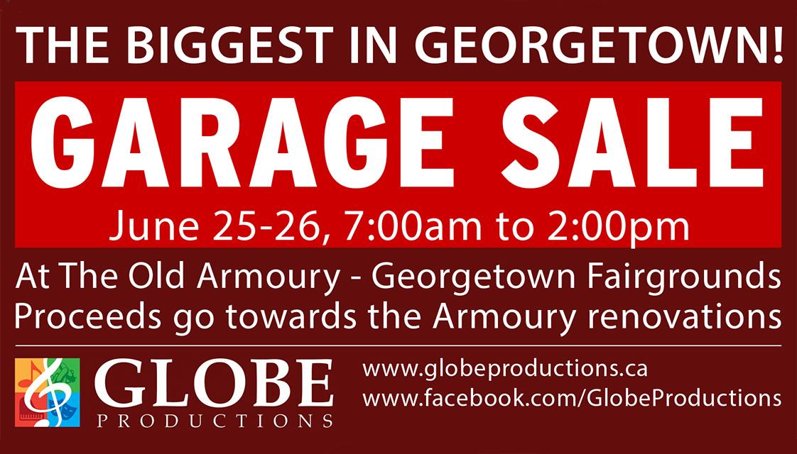 June 25 26 2016 Globe S Annual Garage Sale